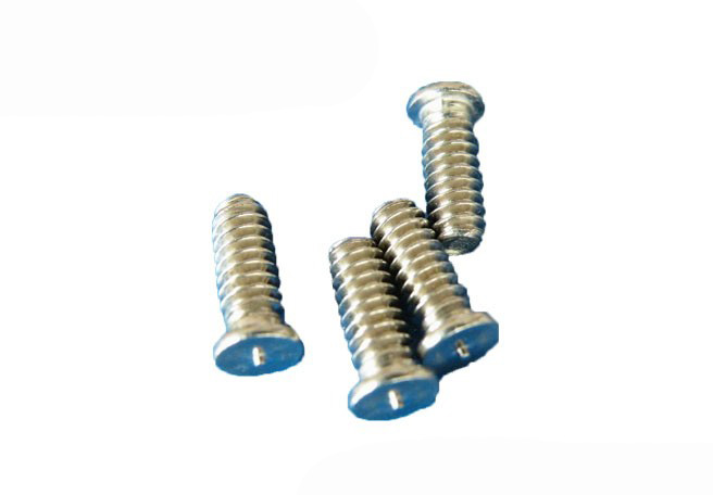 Spot welding screw